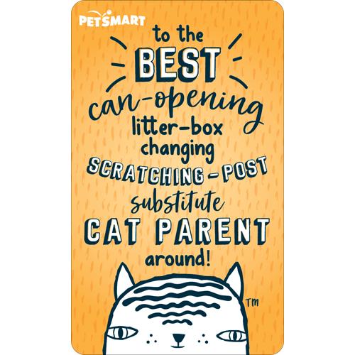 Select Cat Parent Virtual Card